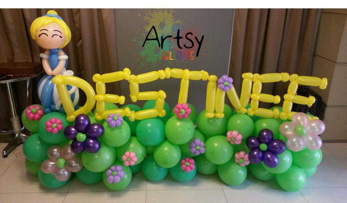 Princess Balloon Decoration Balloon Princess Backdrop For Destinee Balloon Decoration