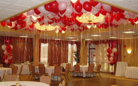 Helium Balloon Decoration
