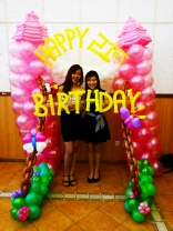 Who say balloons are just for kids! It can be done for your 21st birthday too!