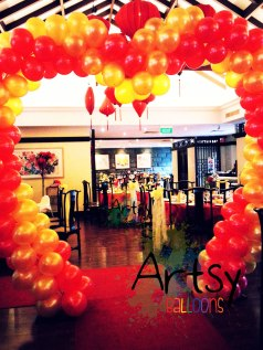 heart shaped balloon arch? Have you seen it before?
