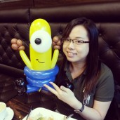 She really likes minion, the first thing that came to her mind when I asked her what she wants was, MINION!