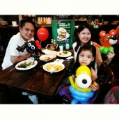 Made a tiger, a minion and a spider for this family! Happy Dining!