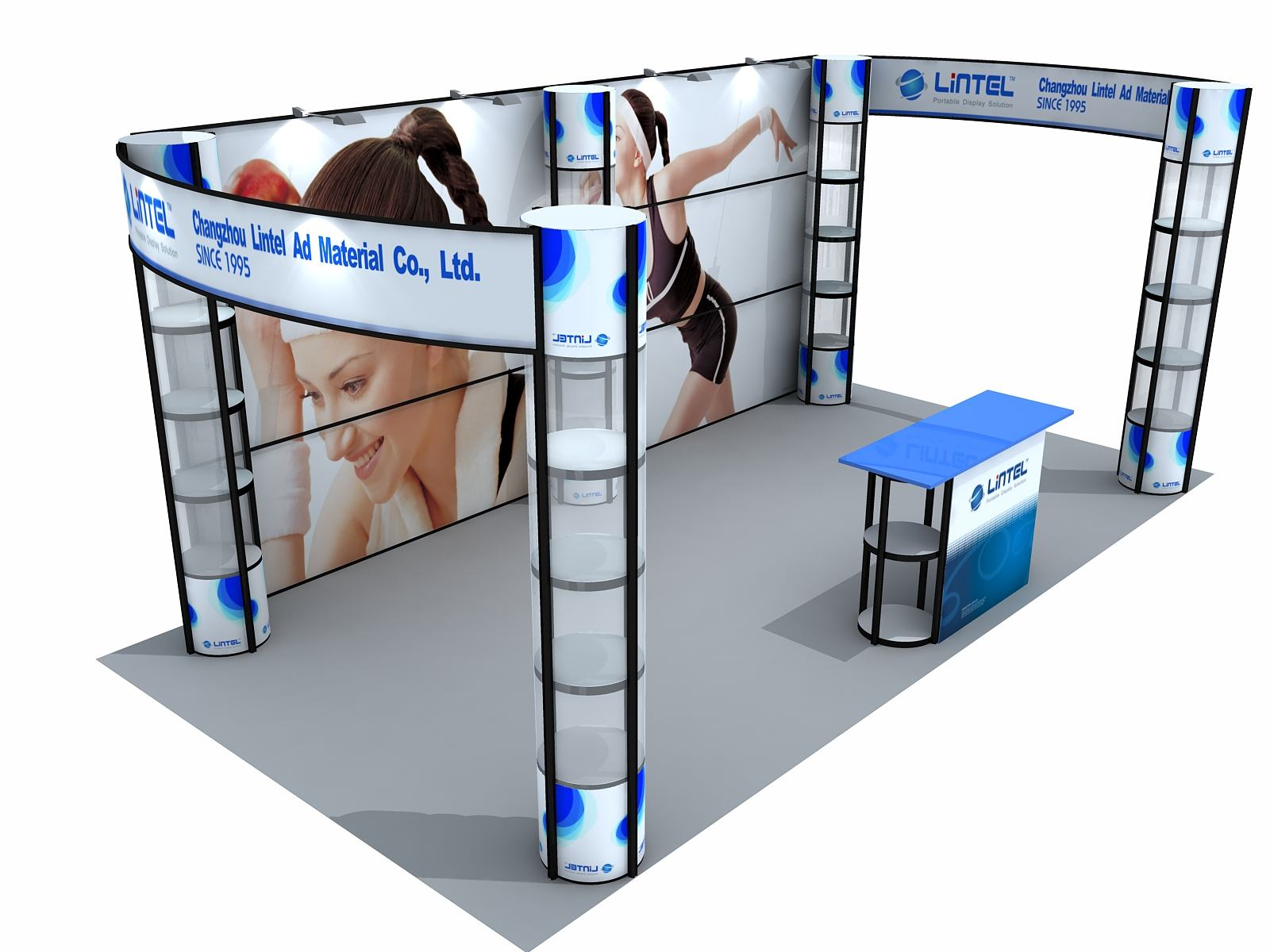 Exhibition Booth Size : Singapore exhibition booth u singapore balloon decoration services