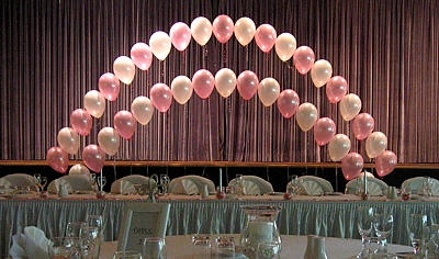 String of pearls Balloon decoration (4)
