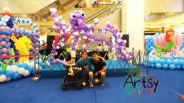 Octopus balloon Arch!