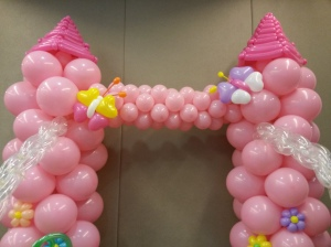 Balloon Fantasy Princess Castle 1