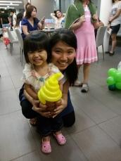 Balloon Sculpting - ice cream