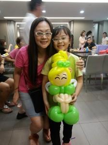 Balloon Sculpting - Fairy