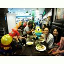Balloon Sculpting Singapore for birthday parties and events minion and gun