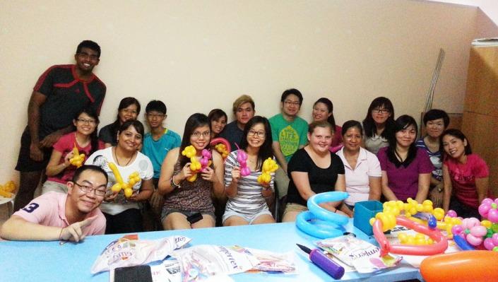 balloon workshop