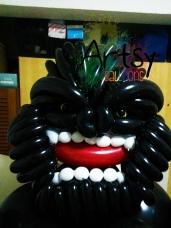 Balloon King Kong Gorilla Life Size Sculpture 3