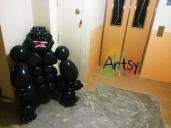 Balloon King Kong Gorilla Life Size Sculpture