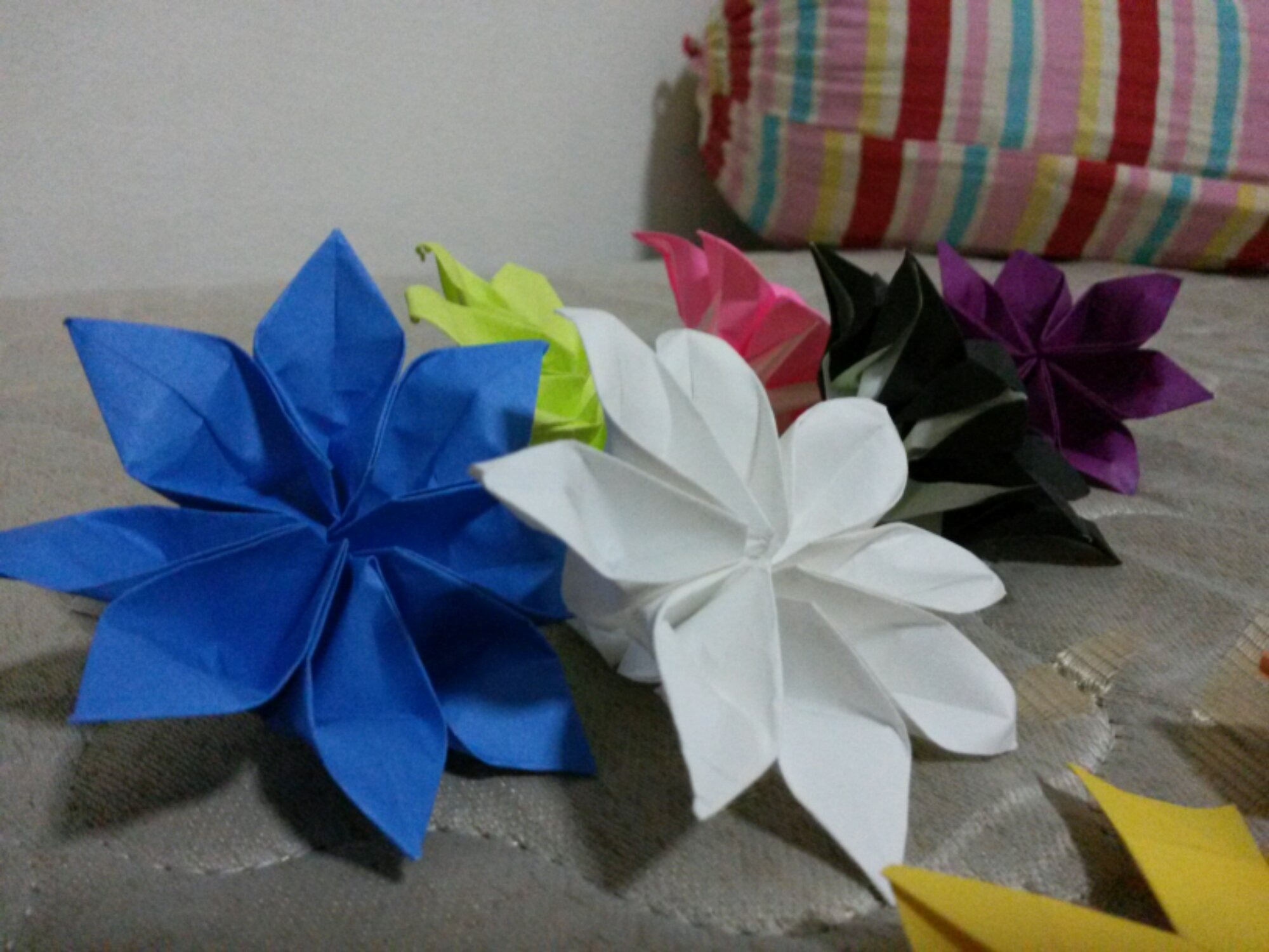 , Back to practising origami!, Singapore Balloon Decoration Services - Balloon Workshop and Balloon Sculpting
