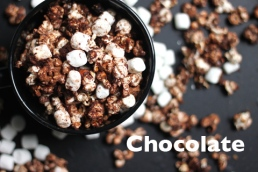 chocolate popcorns