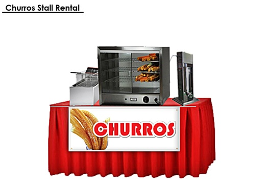 Churros Stall Rental