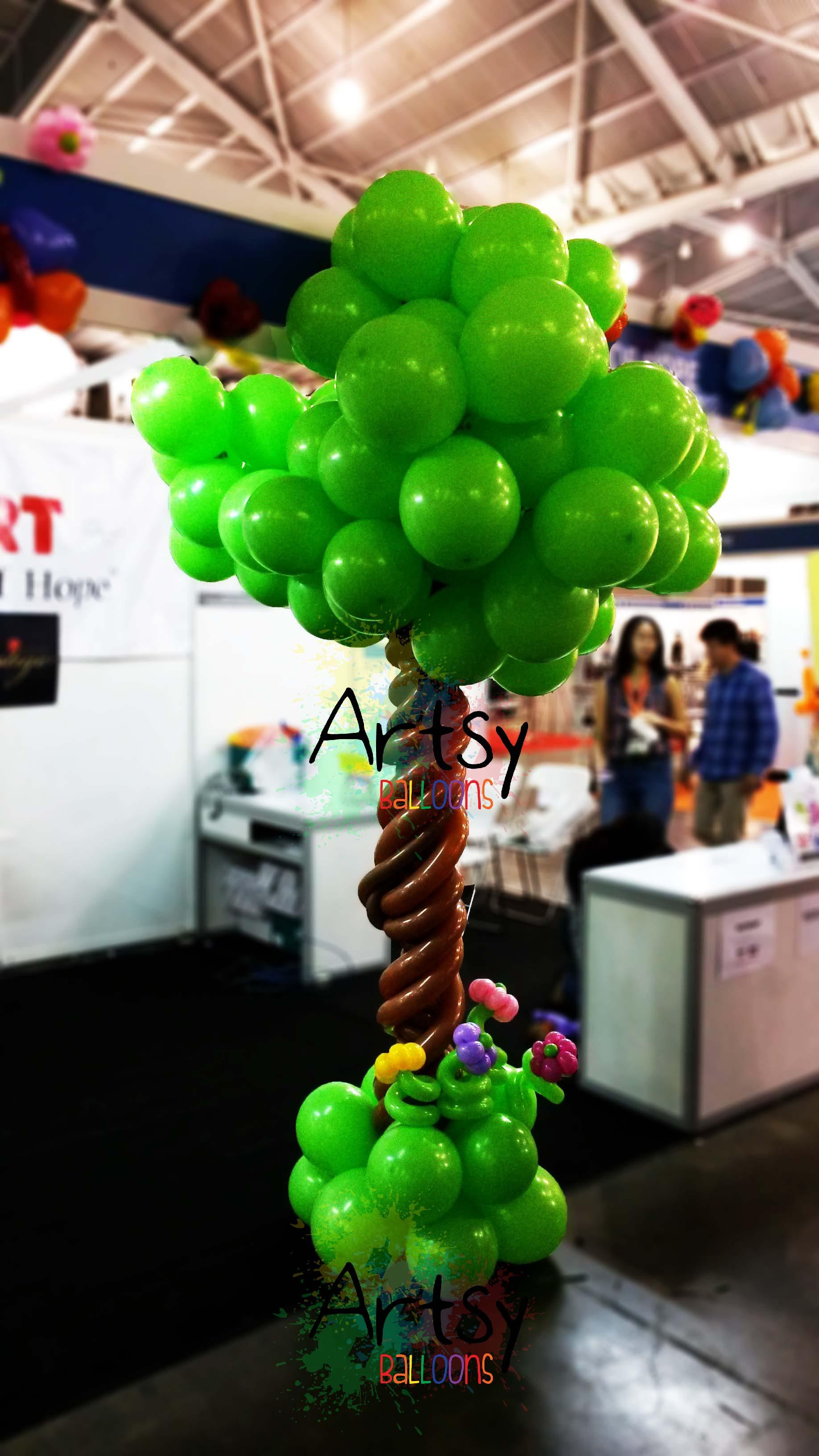Garden and insect balloon theme decoration (2) – Singapore Balloon ...