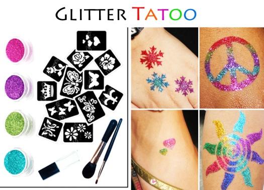 glitter tatoo service singapore