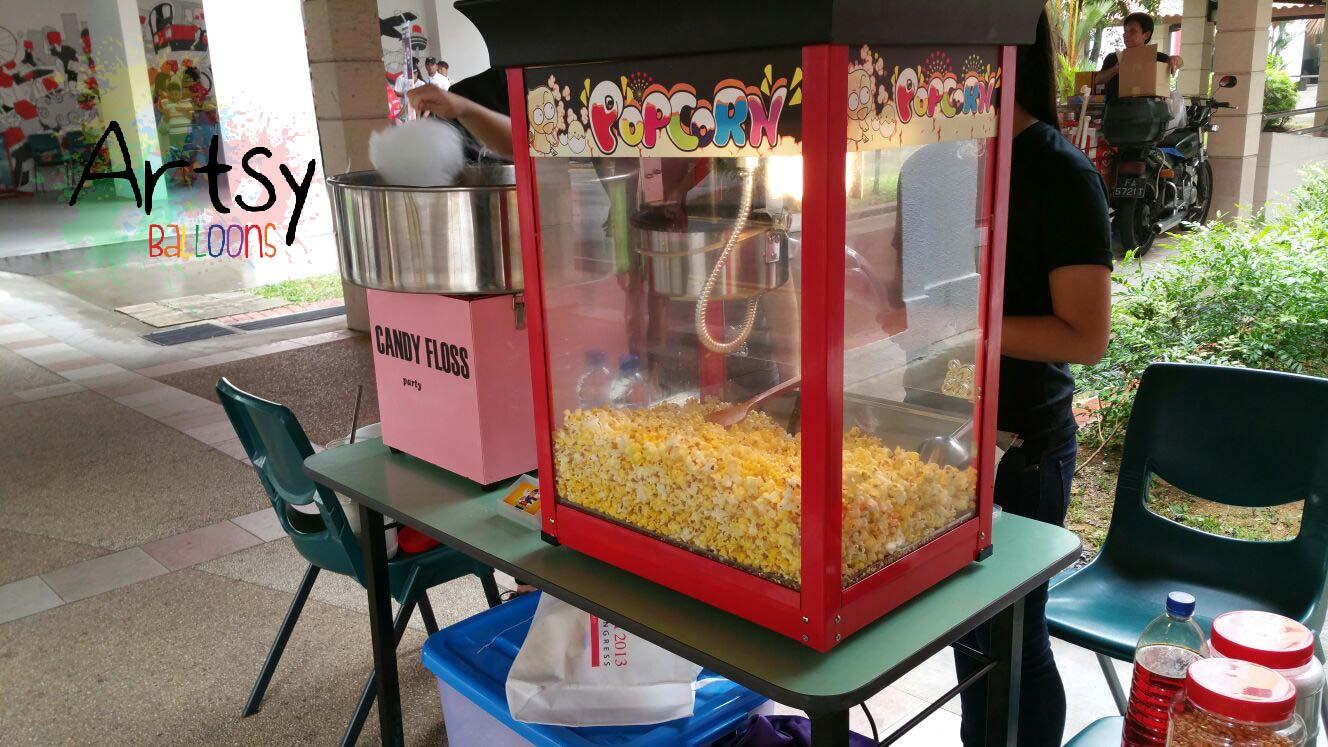 Event stalls machines rental singapore balloon for Balloon decoration machine