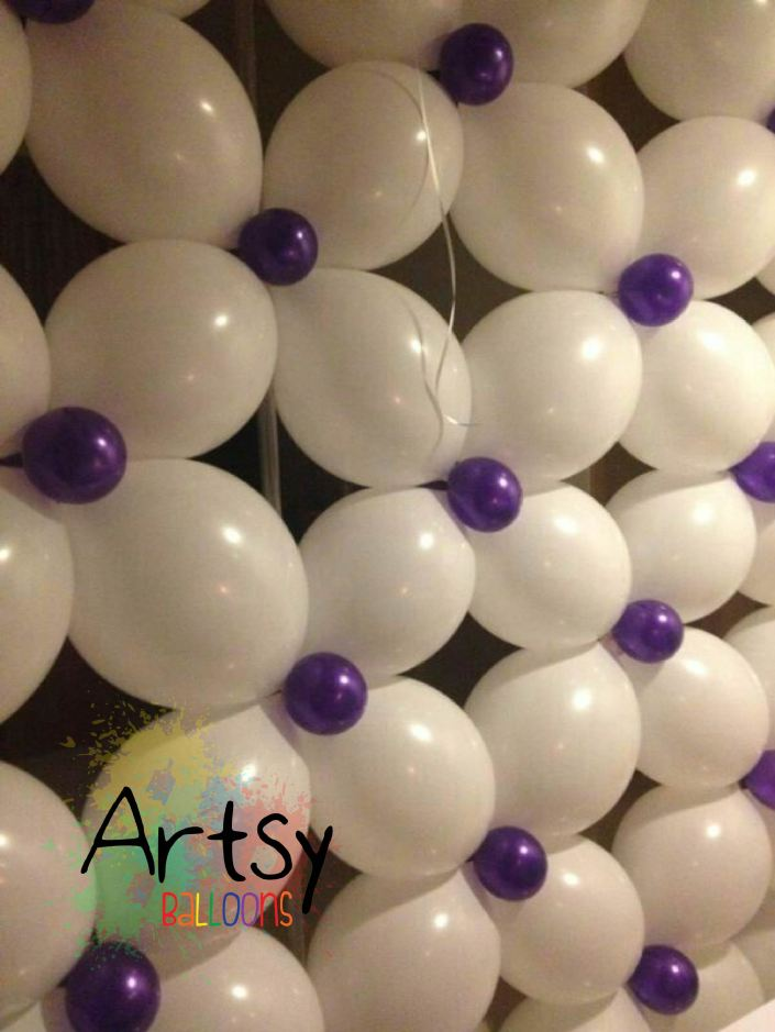 , Balloon Wall we did for our client!, Singapore Balloon Decoration Services - Balloon Workshop and Balloon Sculpting