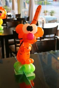 Balloon Tiger Centerpiece!