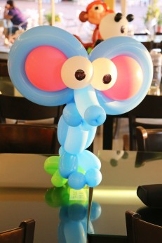 Balloon Elephant Centerpiece!