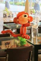 Balloon monkey Centerpiece!