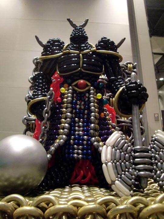 , My Idol – Takehiro Kai, Singapore Balloon Decoration Services - Balloon Workshop and Balloon Sculpting