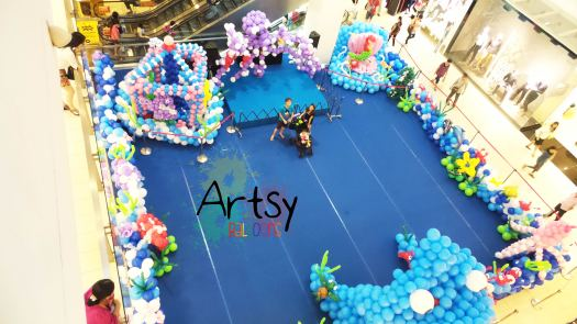 Northpoint underwater balloon project bird eye view