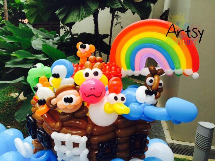 Balloon Noah's ark!