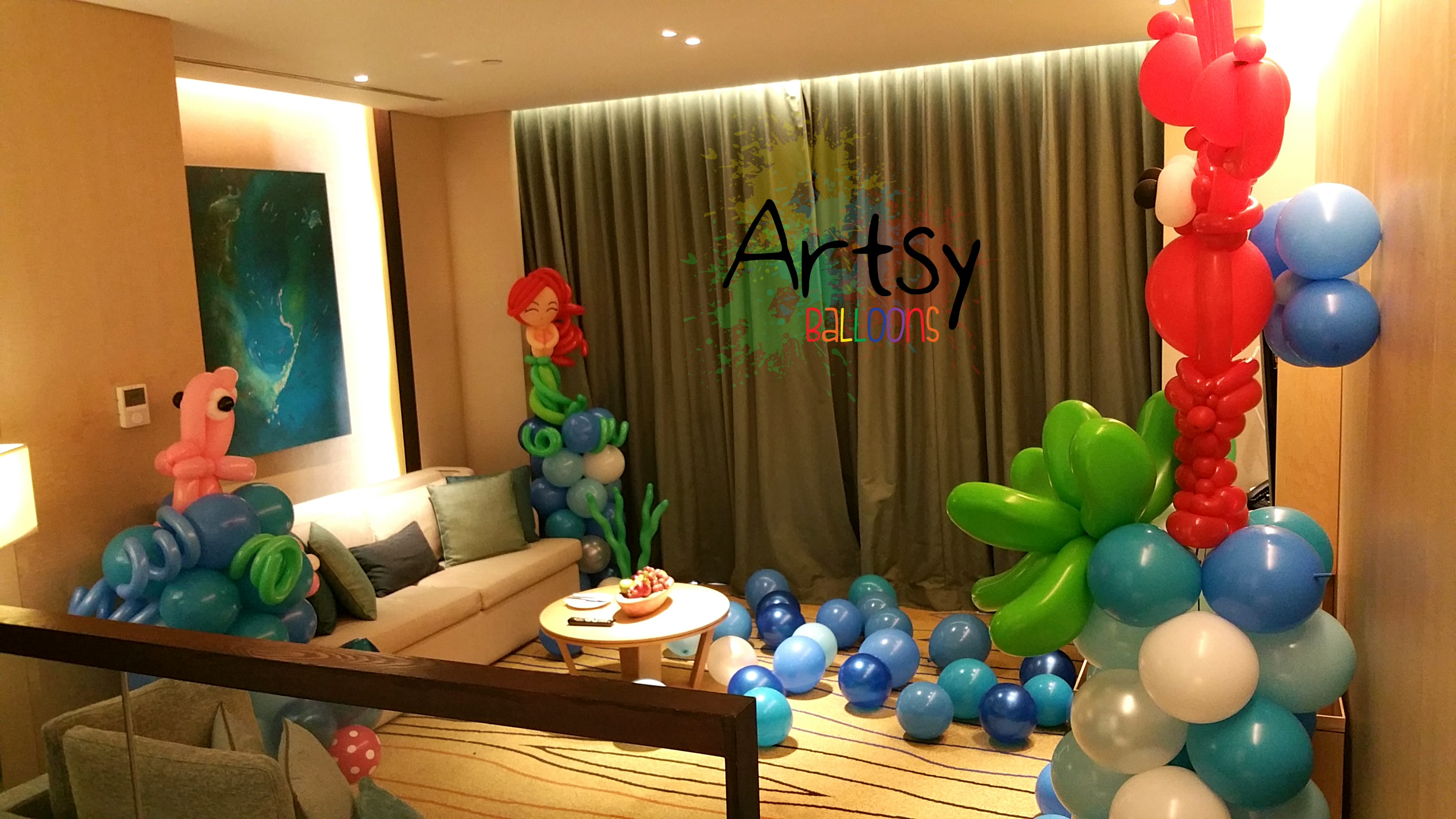 January u singapore balloon decoration services u balloon