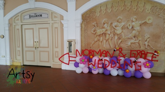 Wedding balloon decoration (5)
