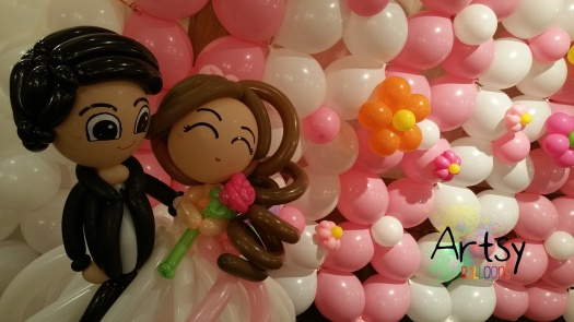 Wedding balloon decoration (6)