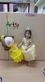 Balloon Sculpting Singapore for birthday parties and events princess belle