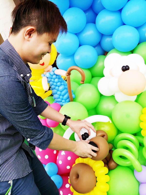 guanliang adjusting balloons