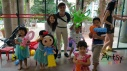 Balloon Sculpting Singapore for birthday parties and events balloon snow white, gun, dragon and many more!