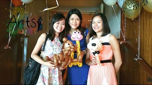 , Artsyballoons, leading party planner in Singapore, Singapore Balloon Decoration Services - Balloon Workshop and Balloon Sculpting