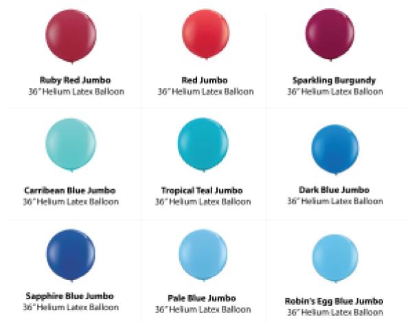 , 36″ Jumbo Balloons, Singapore Balloon Decoration Services - Balloon Workshop and Balloon Sculpting