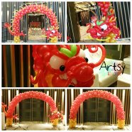 Chinese new year balloon decorations (2)