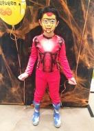 Iron man facepainting