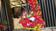 Ouji's dragon head balloon design
