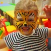 Tiger facepainting