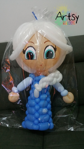 Balloon Elsa from Frozen