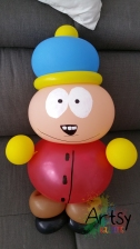 Balloon Sculpting Singapore for birthday parties and events Balloon Eric Cartman
