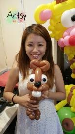 Balloon squirrel