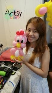 Balloon bird