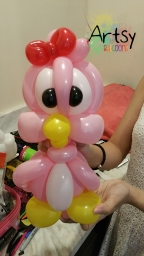 Balloon Sculpting Singapore for birthday parties and events balloon Bird