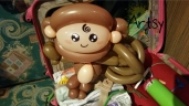 Balloon Sculpting Singapore for birthday parties and events balloon monkey