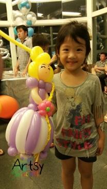 Balloon princess!