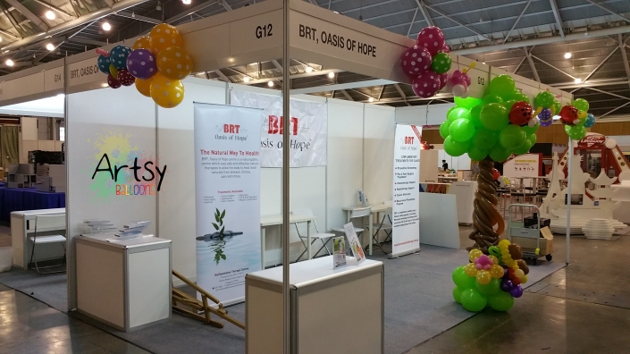 Expo booth balloon decoration (3)