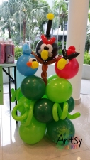 Angry Bird balloon display (2)